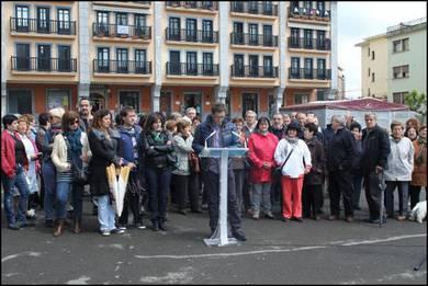Atez atekoaren aurka manifestazioa egingo dute Villabonan ostiralean