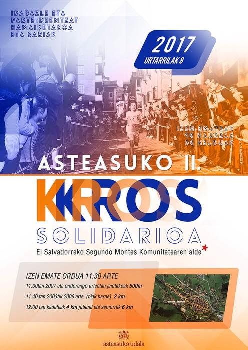 Asteasuko II. Kros solidarioarekin amaituko dira eguberrietako ekimenak
