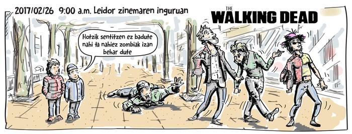 The Walking Dead Tolosan
