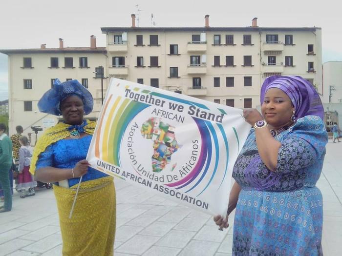Afrikar Batasuna elkartearen urte amaierako festa