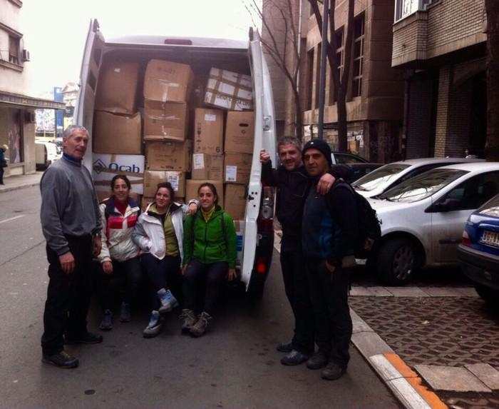 Belgradera joandako boluntarioen bizipenak