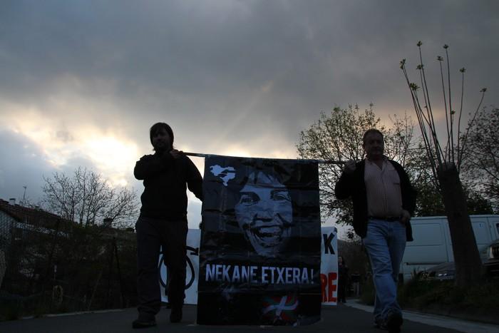 Nekane Libre geratu arte mobilizatzen jarraitzeko deia luzatu dute Asteasun