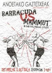 Barracuda eta Mammut taldeen kontzertuak, Anoetan