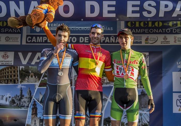 Jokin Alberdi zizurkildarra, hirugarren Espainiako Txapelketan