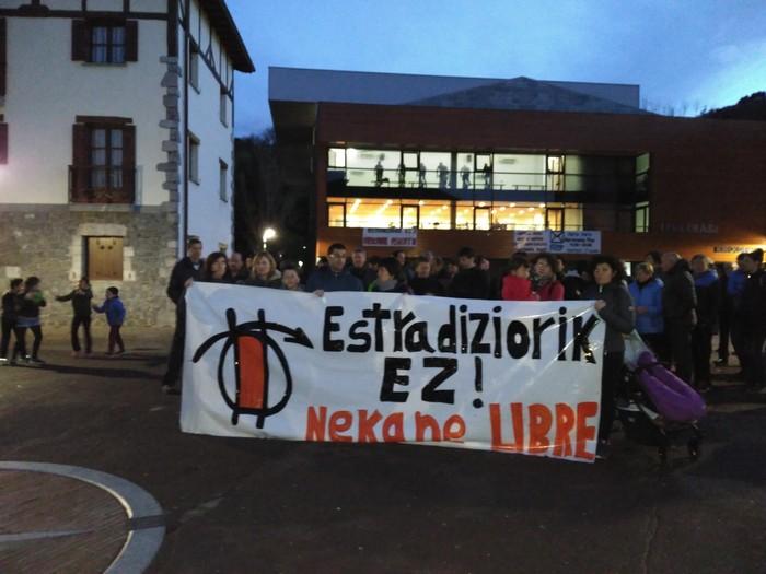 Nekane Txapartegi Espainiaratzea erabaki du Suitzak