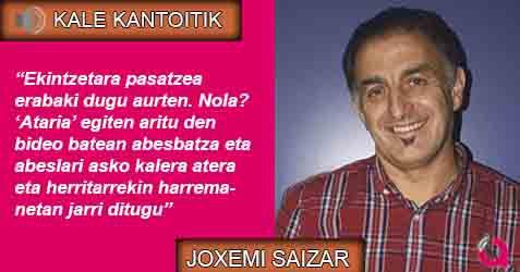 «Kantatu nahi dut bizitza»