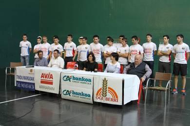 Nagusien lekuan kadeteak sartu dituzte San Juan Sarian