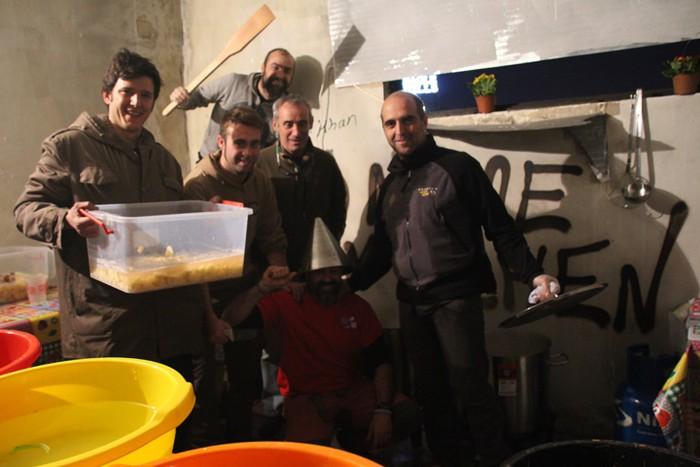 Abiatu da boluntario taldea Belgraderantz