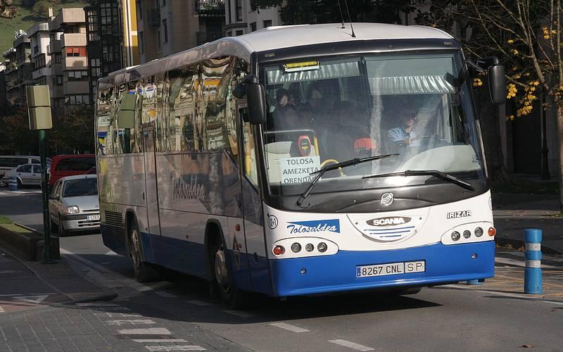 TolosaldeaEskualderako bus zerbitzu berria