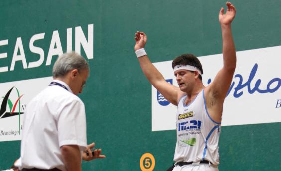 Jon Irazu zizurkildarra bigarren Euskadiko Aizkora Txapelketan