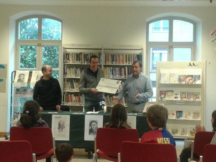 Ramon Olasagastik Lizardi Saria irabazi du bigarren aldiz