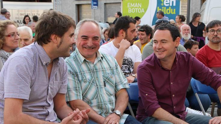 """Euskal Herriaren etorkizuna aldatzeko """"aukera bakarra"""" aldarrikatu dute"""