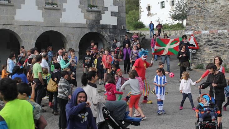 Jendetza Orexan, Haizeren aldeko festan