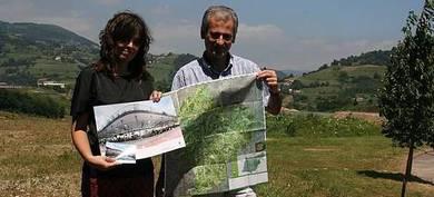 Tolosaldeko natur ibilbideak jasotzen dituen mapa berria aurkeztu dute