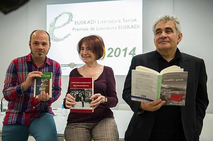 Bernardo Atxagak irabazi du Euskadi Literatura Saria