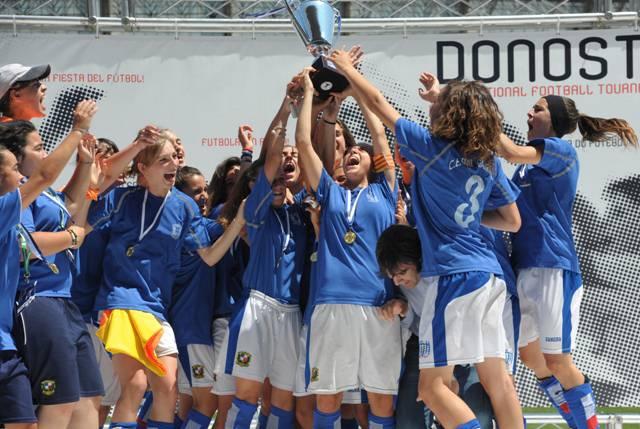 Tolosaldeko 15 talde arituko dira gaurtik aurrera Donosti Cup txapelketan