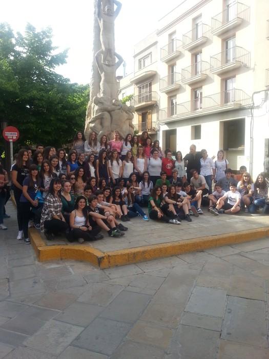Loatzoko musikariak Vilafranca herrian