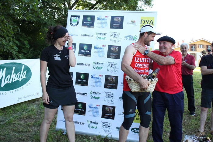 Igor Esnaolak azkar eta txukun irabazi du Zizurkilen - 20