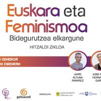 Euskara eta feminismoa hitzaldi zikloa