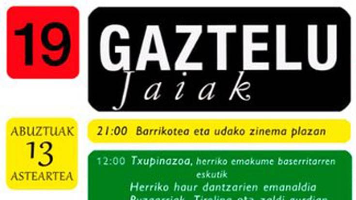 Gazteluko jaiak 2019