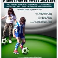 Futbol egokitua 4. topaketa
