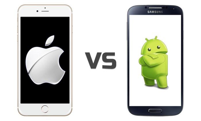 'Iphone vs Android' Zein ateratzen da garaile?