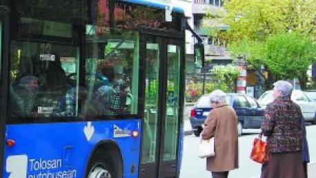 Gutxieneko zerbitzuak autobusean, martxoaren 11ra bitarte