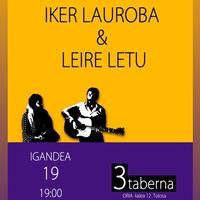 Iker Lauroba eta Leire Letu