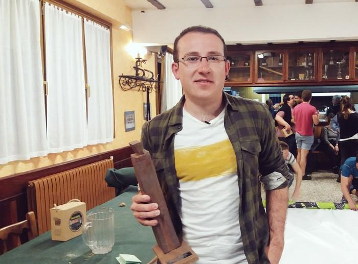 Unai Mendizabalek irabazi du Osinalde saria