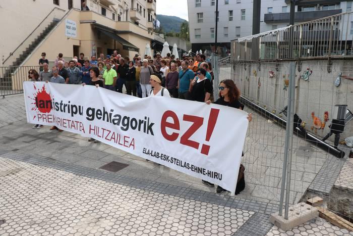 Zizurkilgo lan istripua salatu du gehiengo sindikalak