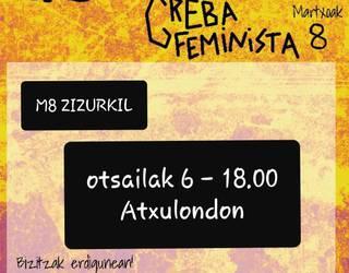 Greba feminista antolatzeko bilera asteazkenean