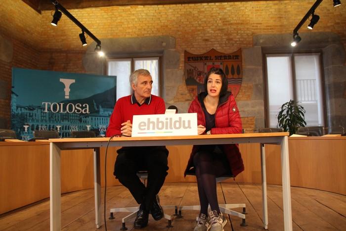 2018an San Esteban auzoa eraberritzea proposatu du EH Bilduk