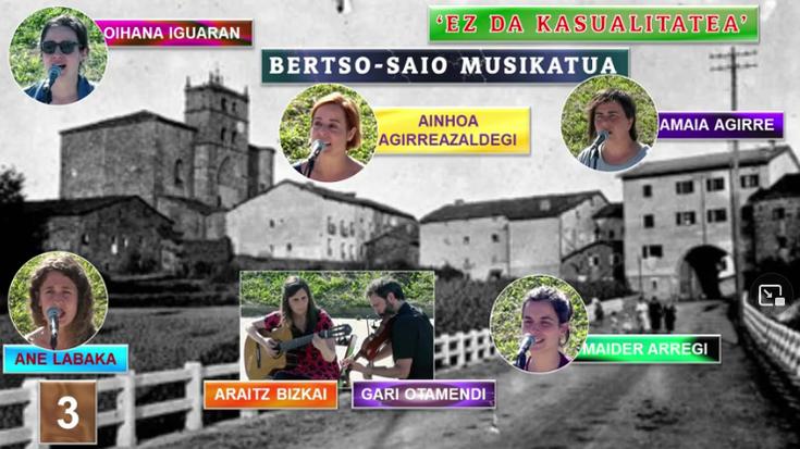 'Ez da kasualitatea' bertso-saio musikatua (3) (Elgeta, 2021-07-04) (31'47'')