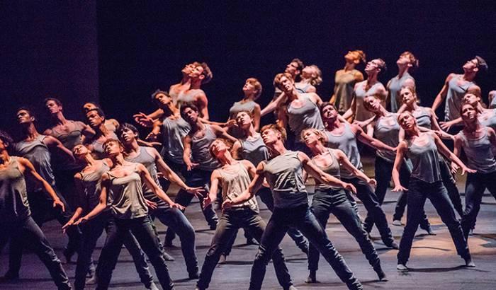 Zuzeneko proiekzioa: 'Mix ballet'