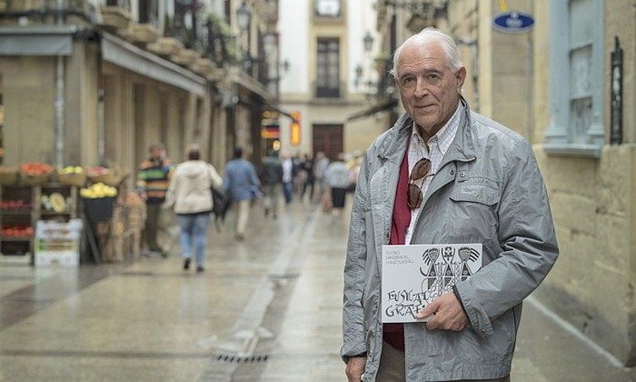Tomas Hernandezek 'Euskal grafia' liburua argitaratu du
