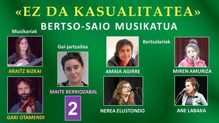 """""""Ez da kasualitatea"""" bertso-saioa (Legazpia, 2020-07-17)-2 (30'00'')"""