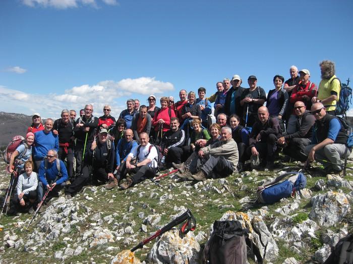 Alpino Uzturreren urteko lehen ibilaldia, hurrengo igandean