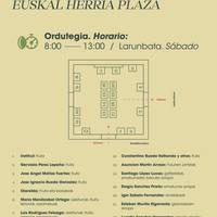 Larunbateko azoka. Euskal Herria plaza