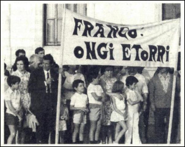 Faxistak eta independentistak; Espainiako bi muturrak
