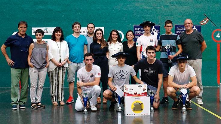 Gutierrez, Alberdi eta Espinal txapeldun Tolosako lau eta erdikoan