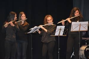 Flauta jotzaileen topaketan parte hartu du Loatzok