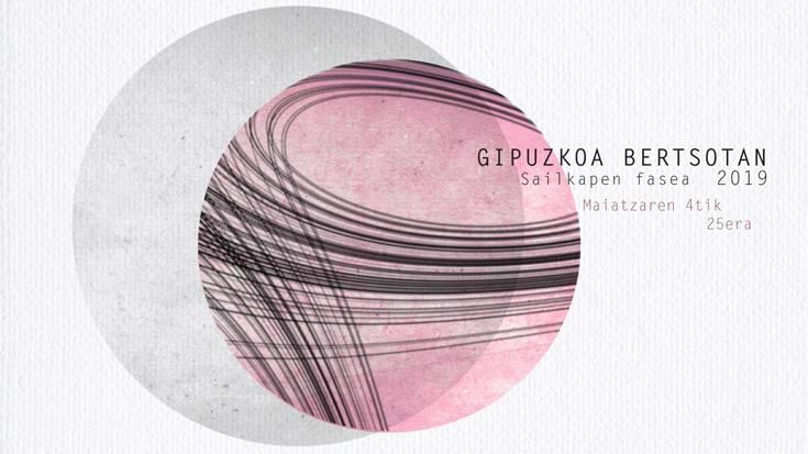 Gipuzkoa Bertsotan 2019