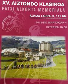 XV. AIZTONDO KLASIKOA_PATXI ALKORTA MEMORIALA
