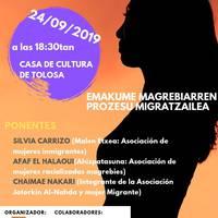 Hitzaldia: 'Emakume magrebiarren prozesu migratzailea'