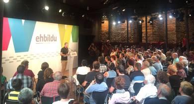 Urte politikoa indartsu hasi du EH Bilduk, politika neoliberalen alternatiba gisa eta Katalunia defendatuz
