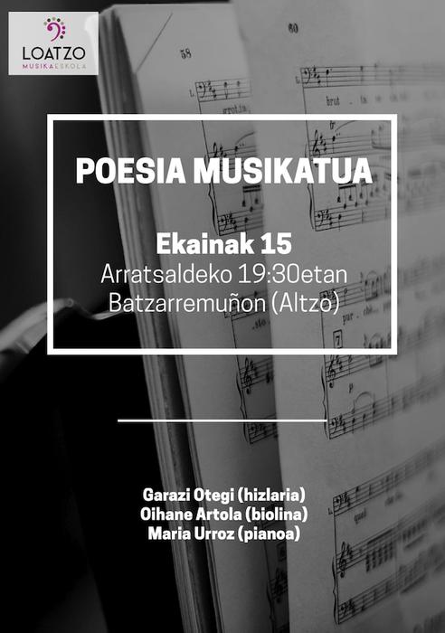 Poesia musikatua