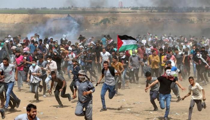 Presoen ondasunak, Katalunia, Palestina