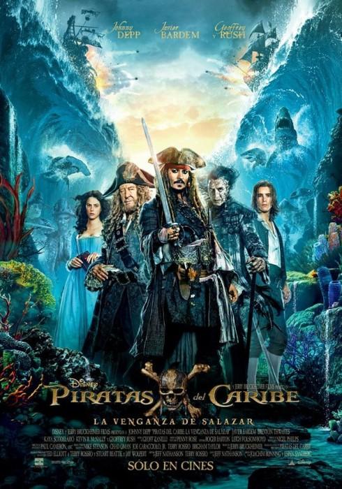 Piratas del Caribe: la vengaza de Salazar