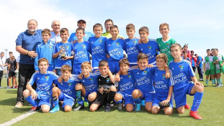 Tolosa CF-ko alebinak Venta de Bañosen txapeldun