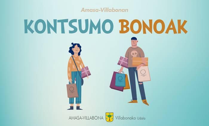 Amasa-Villabonako udalak herriko merkataritza sustatuko du kontsumo-bonoen bidez